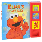 Elmo's Play Day Play-a-Sound Book with Plush - Sesame Street