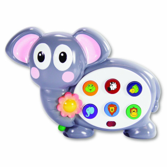 Early Learning Colors and Shapes Safari Elephant