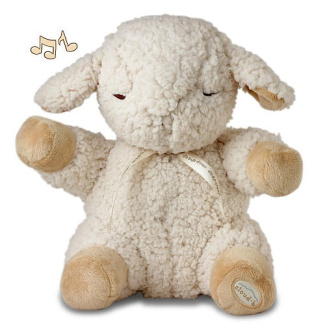 Cloud B Sleep Sheep Plush Sound Machine with Four Soothing Sounds
