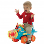 Fly with Elmo Airplane Ride-On - Tek Nek