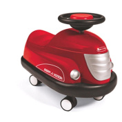 Radio Flyer Classic Red Bumper Car
