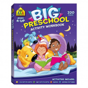 School Zone Publishing SZP06321 Big Preschool Activity Workbook