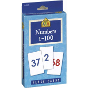 School Zone  1-100 Numbers Flash Cards