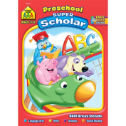 School Zone Publishing Preschool Scholar Workbook