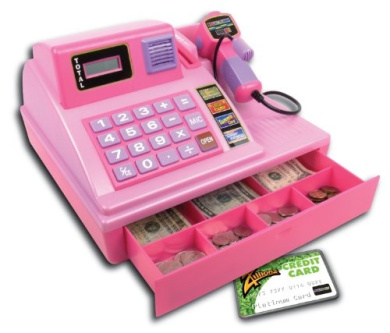 Zillionz Talking Cash Register Pink By Summit Toys