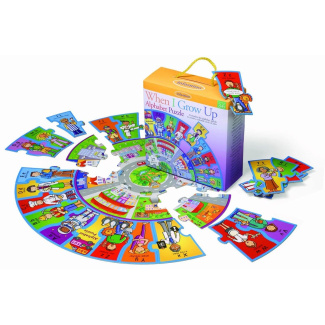 Infantino When I Grow Up Alphabet Preschool Puzzle