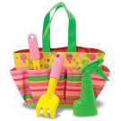 Melissa & Doug Sunny Patch Collection - Blossom Bright Tote Set