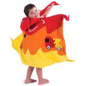 Kidorable Kidorable fireman towel medium Medium Fireman Towel with Hood and Pocket
