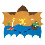 Kidorable Kidorable pirate towel medium Medium Pirate Towel with Hood and Pocket