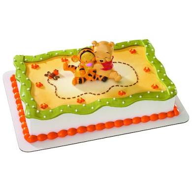 Cake Decorating Stuff Nz : Winnie the Pooh Baby Pooh & Tigger Hugging Cake Decorating ...