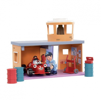 Roary the Racing Car - Silver Hatch Pitstop Playset