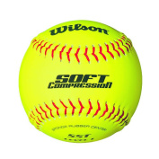 SCB Optic Yellow Softball