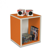 Way Basics Eco-Friendly Storage Cube Plus - Orange