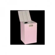 JJ Cole Hamper - Pink Stripe