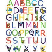 Spirit Alphabet Wall Decals with Animals - Multi