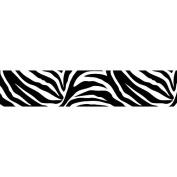 WallPops Go Wild Zebra Stripe Wall Decal - Black