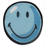 Smiley World SW-11 39RD 99.1cm . Smiley Round Blue Rug