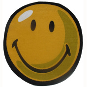 Smiley World SW-10 39RD 99.1cm . Smiley Round Yellow Rug