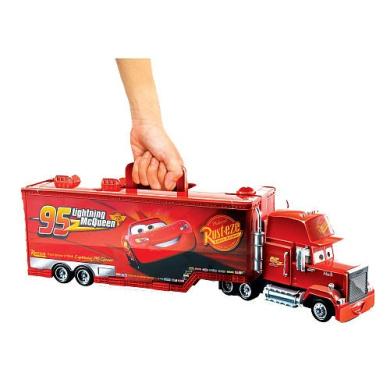 Exclusive Disney Pixar Cars 2 Mack Carry Case By Mattel