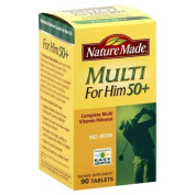 Nature Made Multi For Him 50+, 90 tablets