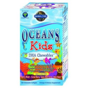 Garden of Life Oceans Kids Omega 3 for kids,120 Chewable Softgels  Box