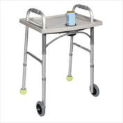 Drive Universal Walker Tray And Cup Holder- Grey, Each