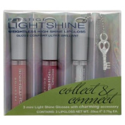 Prestige Lightshine Weightless High Shine Lipgloss Minis + Charming Accessory LSLM-04