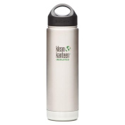 Klean Kanteen 590ml Insulated Stainless Water Bottle w/ Stainless Loop Cap