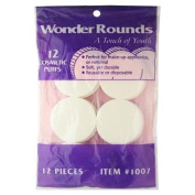 Wonder Rounds Cosmetic Puffs #1007 12 Count