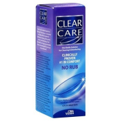 Clear Care One Bottle Solution, No Rub, 350ml