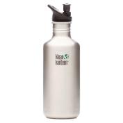 Klean Kanteen 1180ml Stainless Water Bottle w/ Sport Cap 2.0