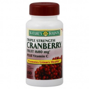 Nature's Bounty Natures Bounty Cranberry Plus Vitamin C