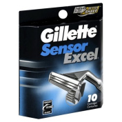 Gillette Cartridges, 10 cartridges