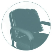 Product Club Black Round Chair Back Cover