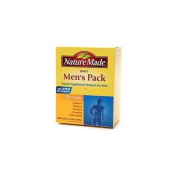 Nature Made Daily Men's Pack, Vitamin Supplement for Men 30 packets