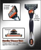 M5 Magnum  Razor With Trimmer, 1 razor