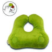 Relaxso EZSLEEP Face Down Speaker Pillow, Silky Plush Lime
