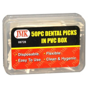 JMK 06728 50 Piece Dental Picks in PVC Box