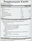 Natures Bounty Omega 3-6-9 Fish Flax Borage, 1200 mg, 60 softgels