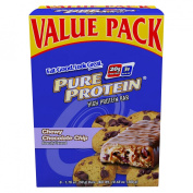 Pure Protein High Protein Bar, Chewy Chocolate Chip 6 ea