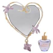 Lolita Lempicka by Lolita Lempicka EDP Mini + Heart Shaped Purse Mirror