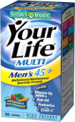 Nature's Bounty Your Life Multi Men's 45+ High Potency Vitamin Supplement Tablets 90 tablets