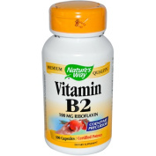 Nature's Way Vitamin B2 100 capsules