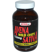 Action Labs 0454827 Avena Sativa Wild Oats - 750 mg - 100 Tablets