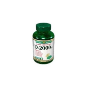 Nature's Bounty Super Strength D-2000 IU, Softgels 200 ea