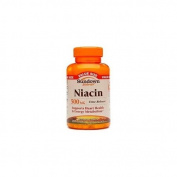 Sundown Naturals Niacin, 500mg, Value Size 200 capsules