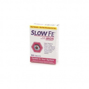 Slow Fe Slow Release Iron, Tablets 90 ea