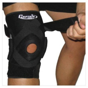 Hinged Knee Brace with Patella Stabilisers - Size