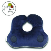 Relaxso EZSLEEP Face Down Speaker Pillow, Silky Plush Navy