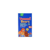 Yummi Bears Vegetarian Multi-Vitamin & Mineral Supplements 90 Bears